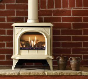 Huntingdon Gas 30 in ivory